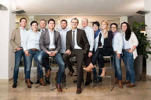 Das Team RegioCenter  Hegau-Bodensee